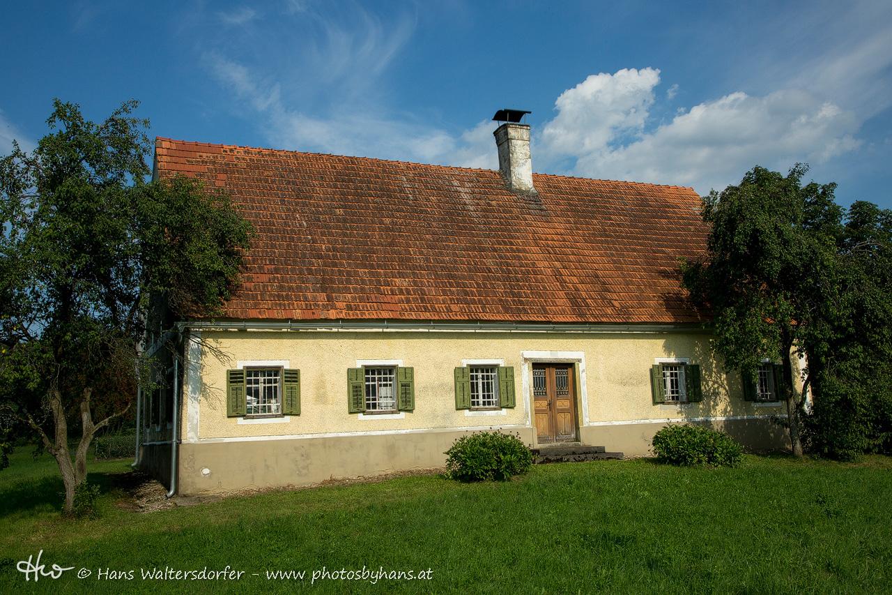 altes Haus in Hart