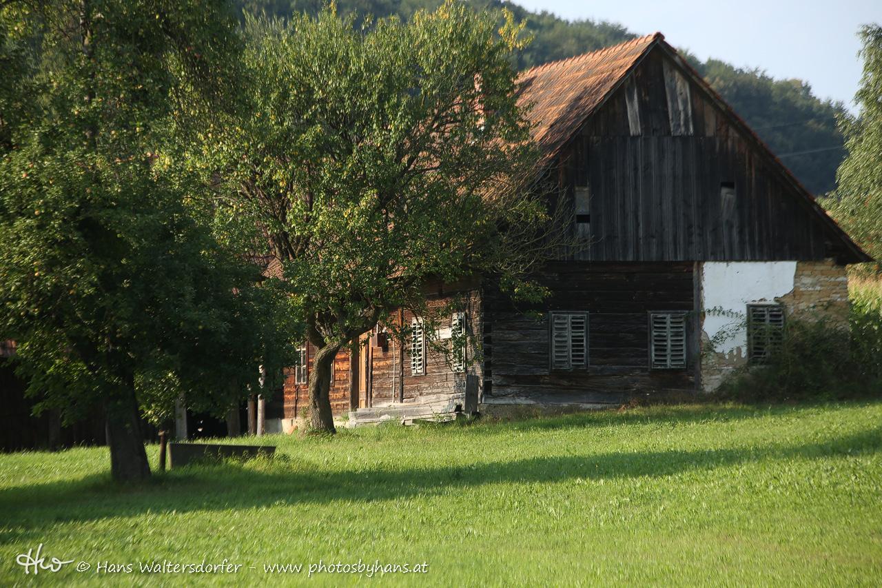 altes Haus in Nägelsdorf