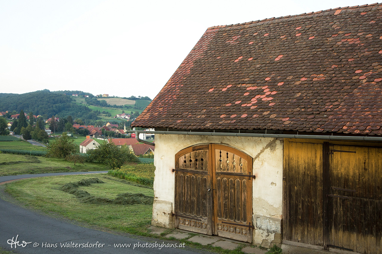 Blick von Sulzberg auf Bairisch Kölldorf