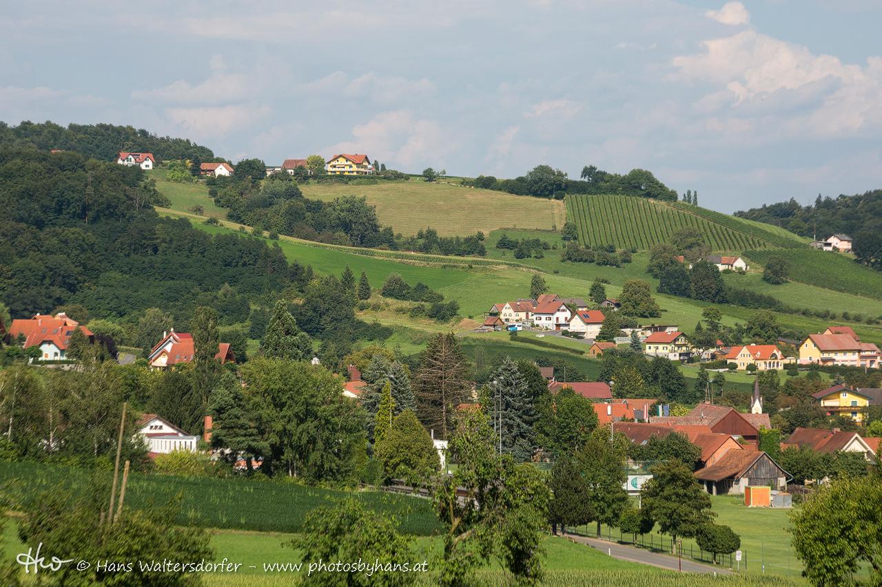 Bairisch Kölldorf mit dem Galgegg