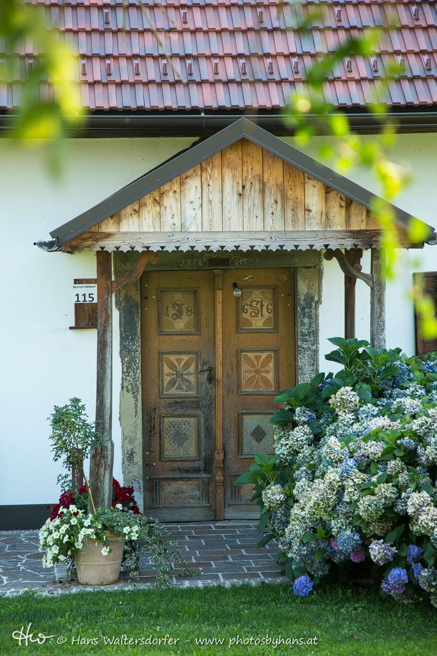 Pichla, alter Hauseingang des vulgo Schusterlipp