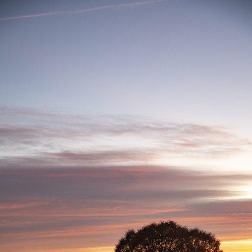 Abendhimmel über Straden
